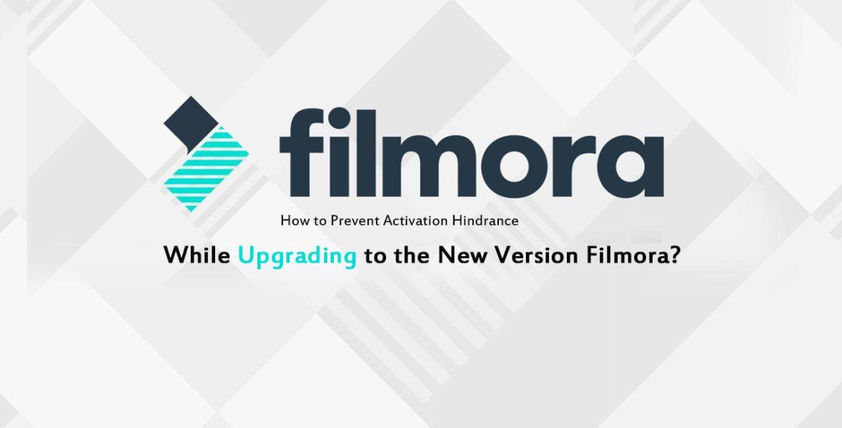 Upgrade to Filmora latest version