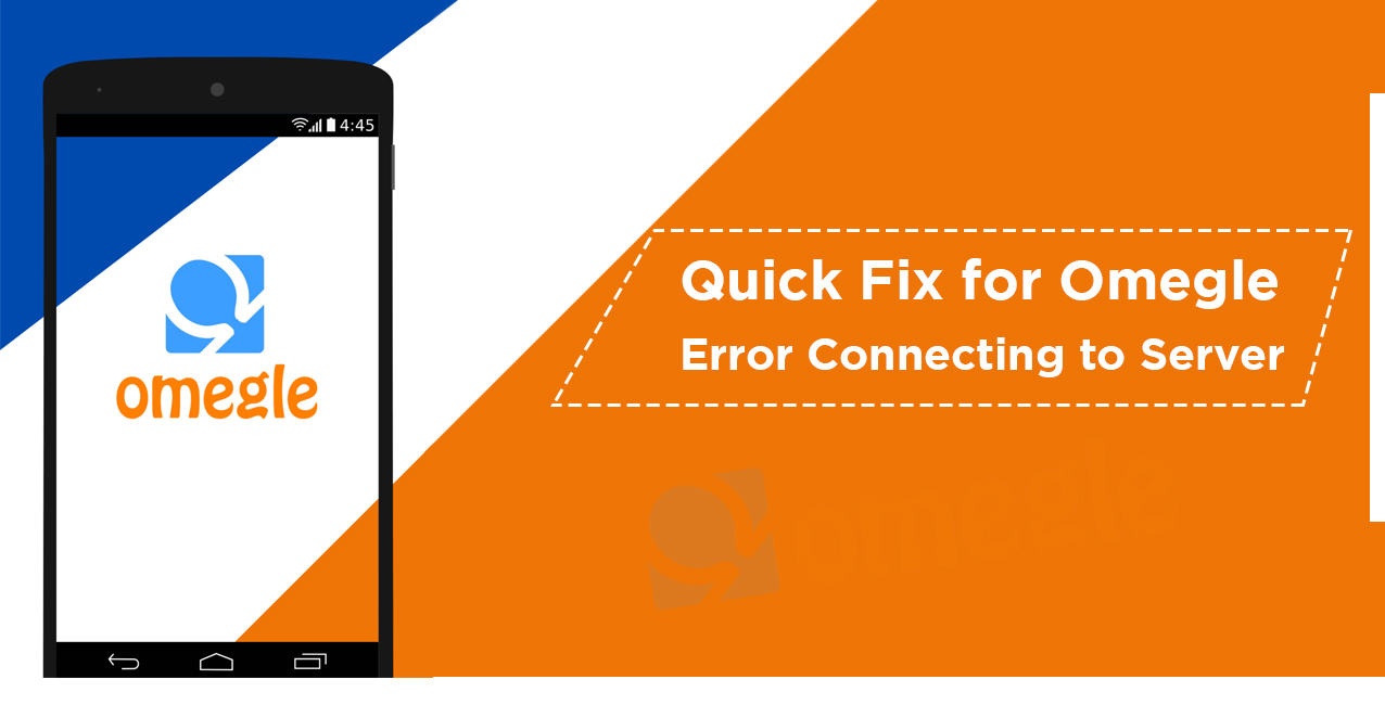 Omegle to server Connection Error