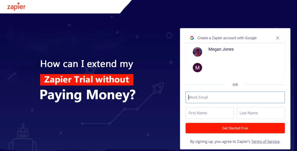 extend zapier trial without money