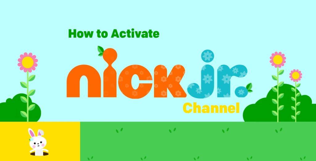 Nick JR activation on Roku