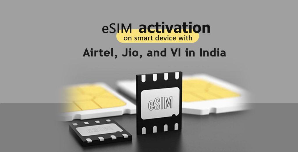 Airtel eSIM activation on Apple