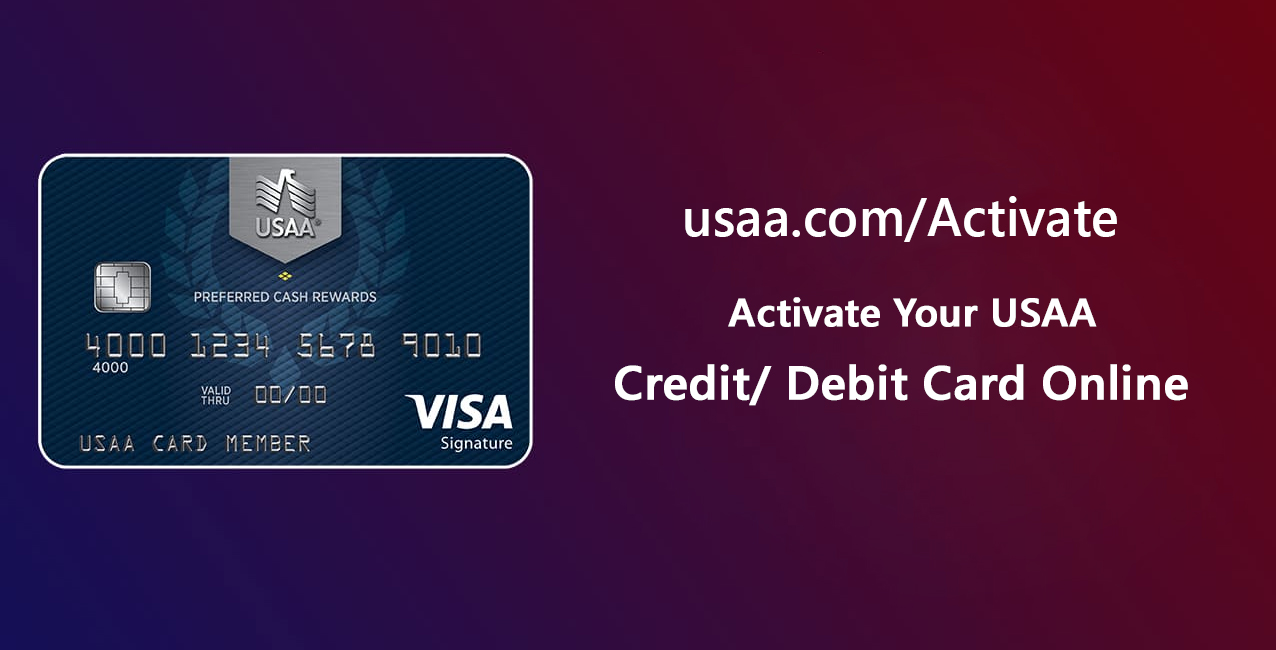 Activate Your USAA Card