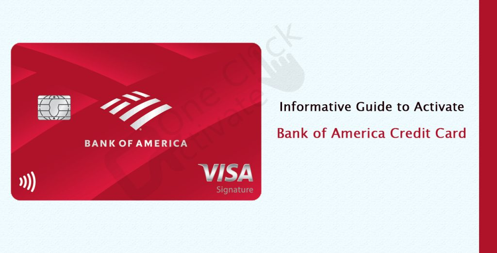 Guide to Activate Bank of America Credit Card