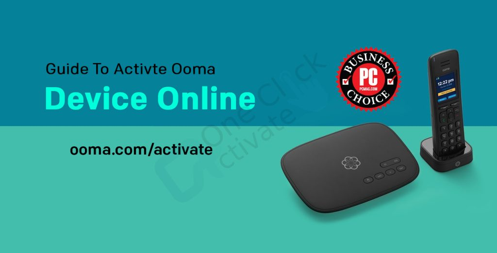 Ooma Device activation guide