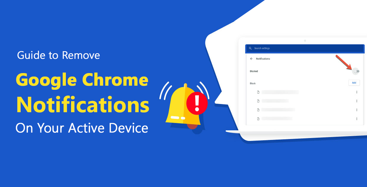 remove google chrome notifications
