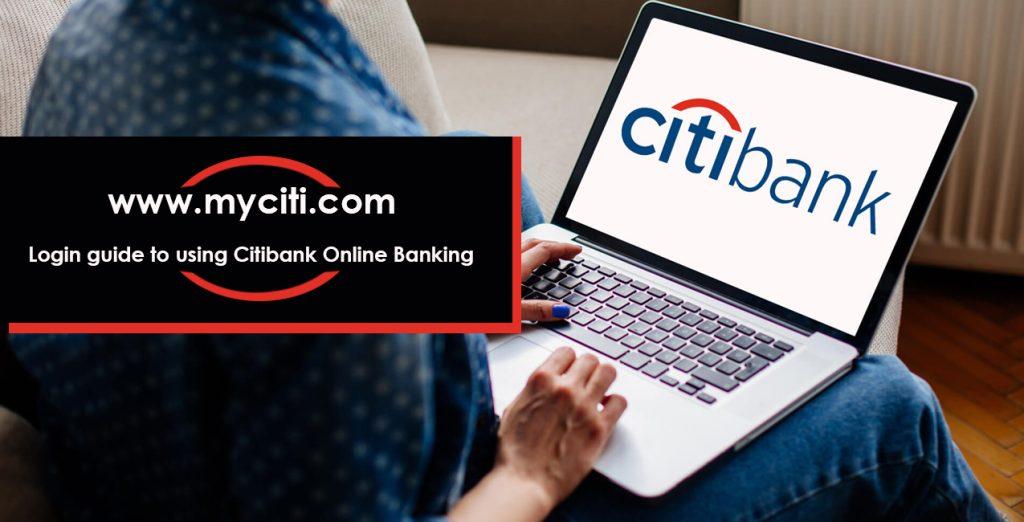 Login guide of using Citibank Online Banking