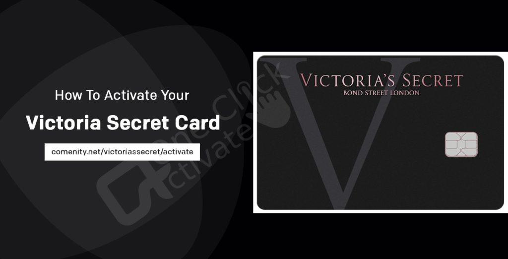 Activate Victoria's Secret Card