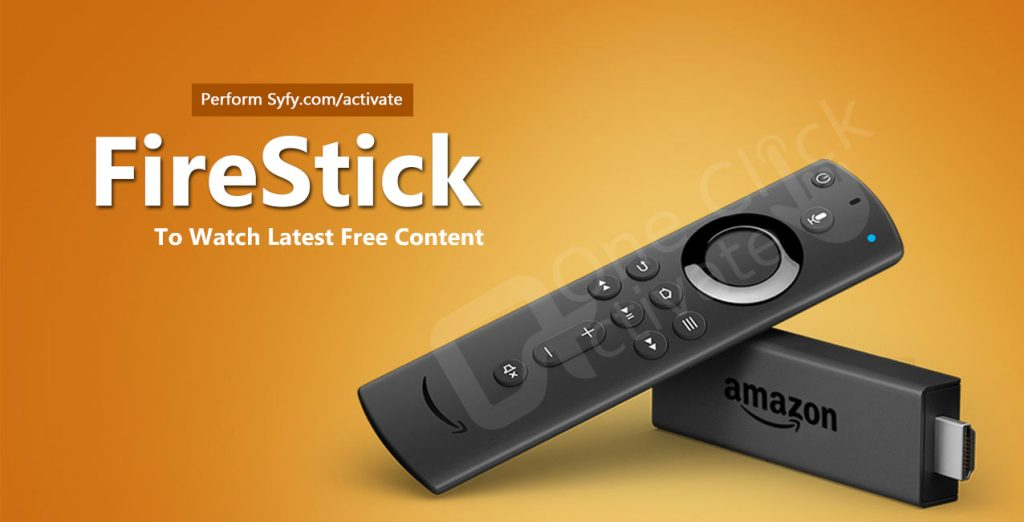 Activate SYFY Channel on FireTV