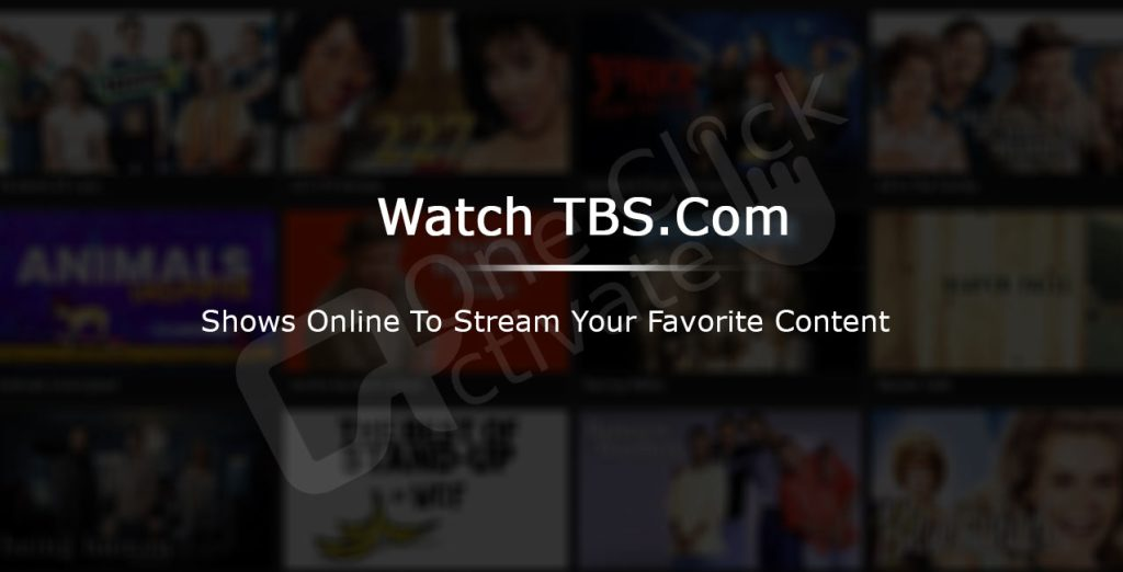 Activate TBS Channel on Roku
