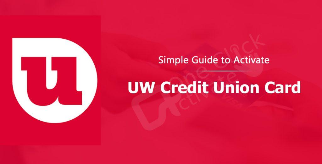 Activate UW Credit Union Card
