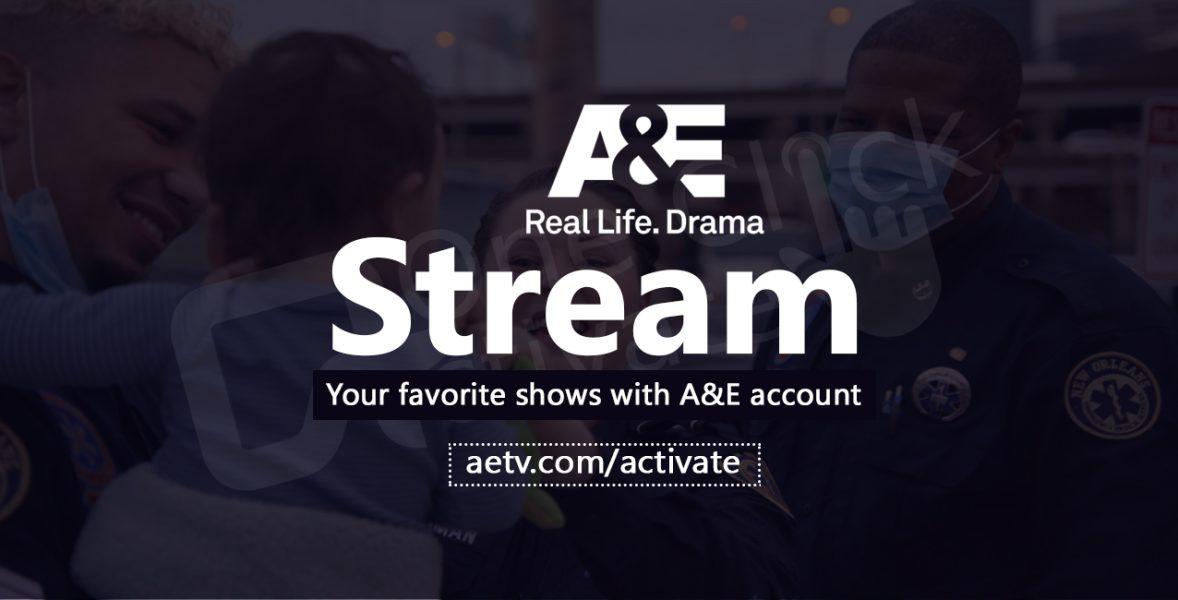 A&E TV Activation process