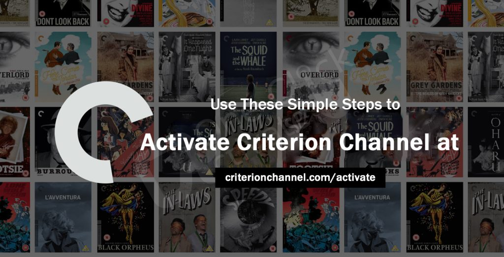 Activate Criterion Channel