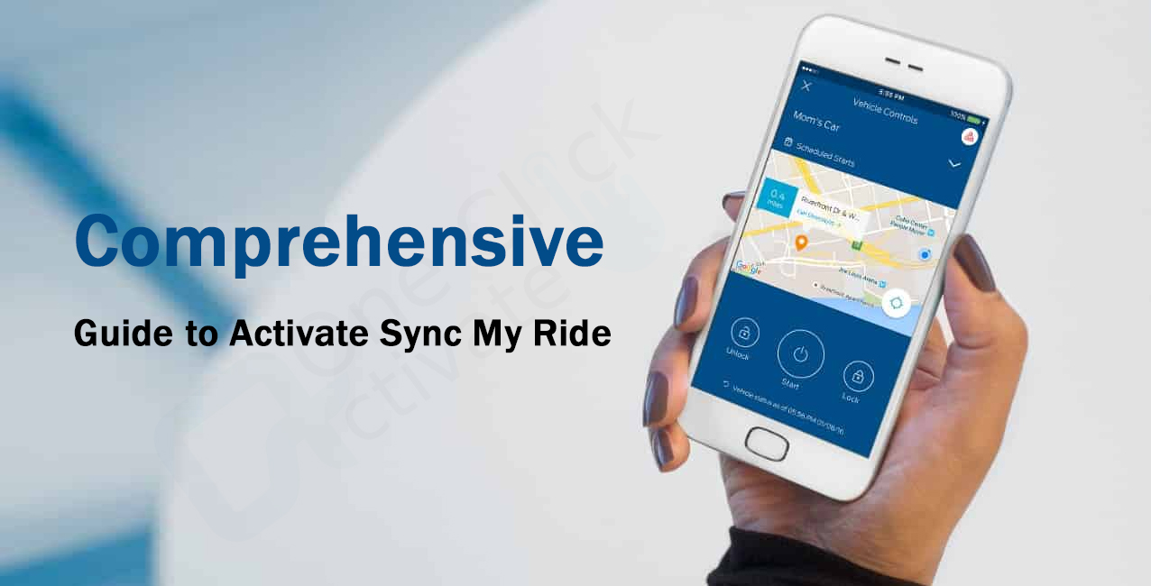 Guide to Activate Sync My Ride