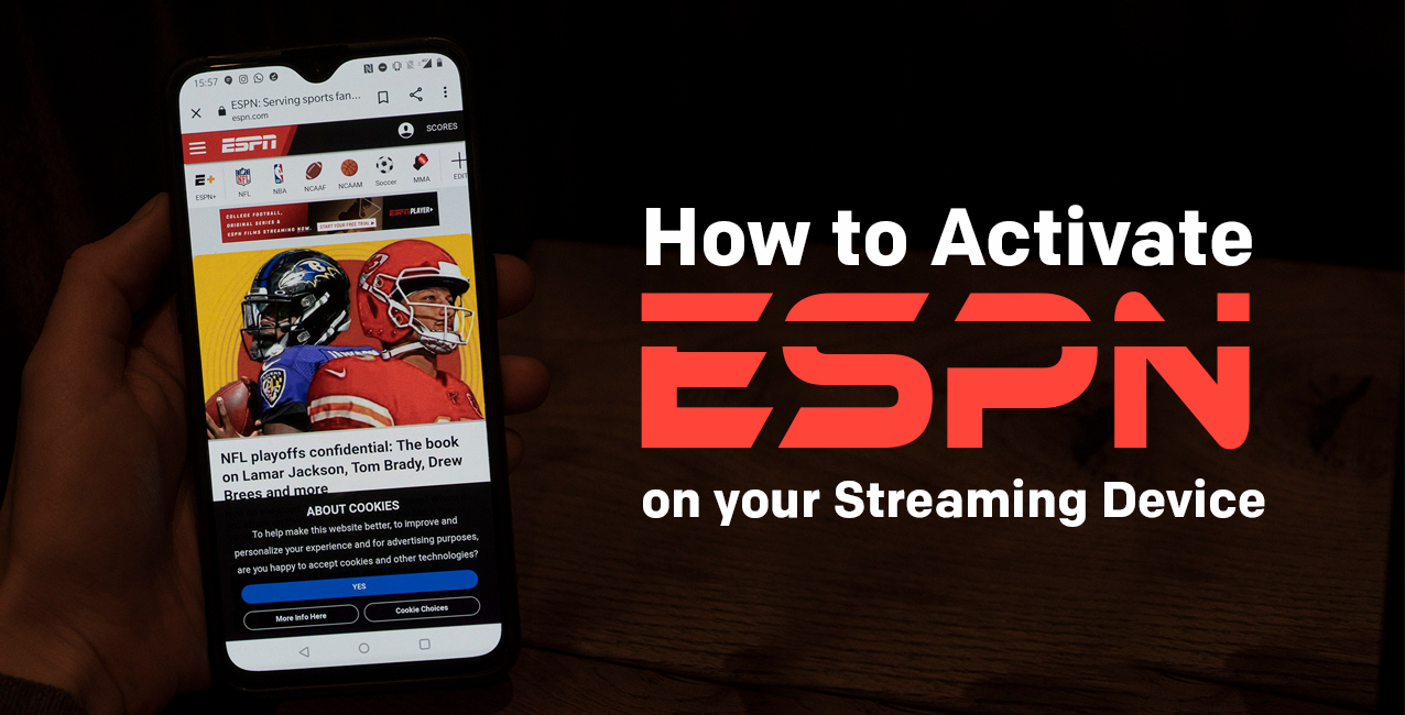 Activate ESPN on Streaming Devices