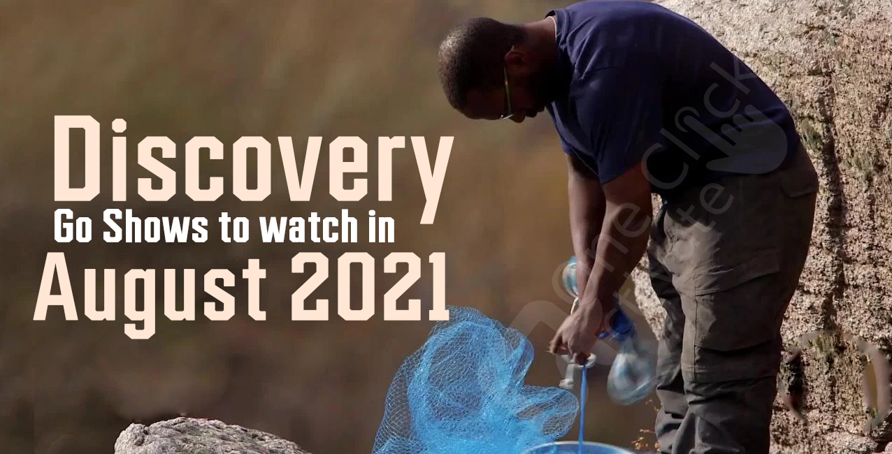 Top Discovery Go Shows 2021