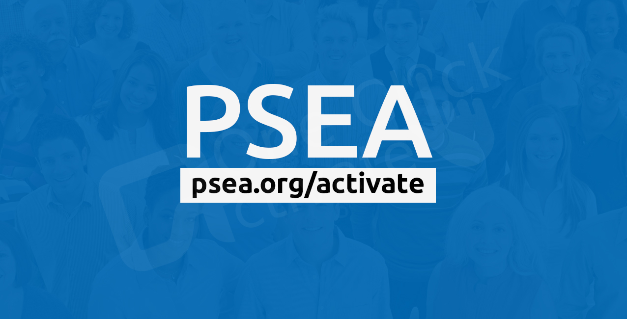 PSEA org activate