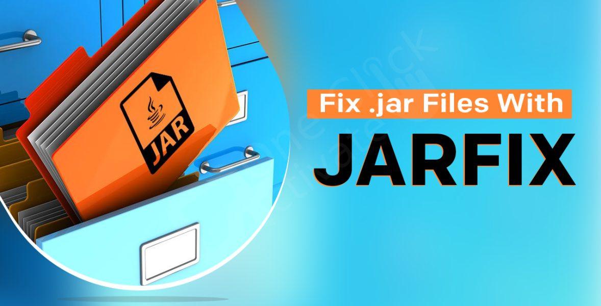 Fix .jar files with Jarfix