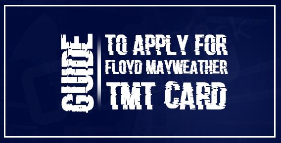 Floyd Mayweather TMT Card
