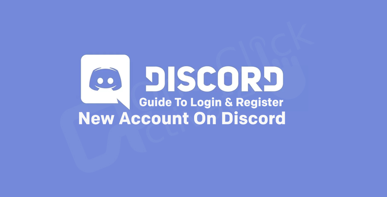 how to register new discord account