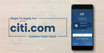 Citi Custom Cash Card